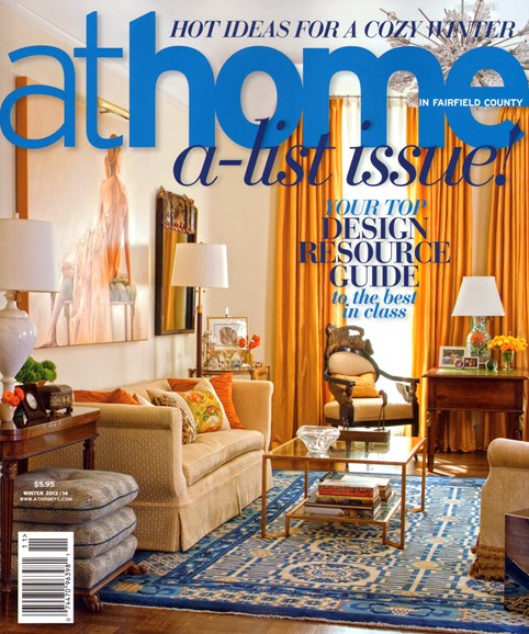 At Home in Fairfield County Cover - 12/1/2013