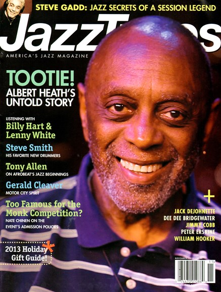 JazzTimes Cover - 11/1/2013
