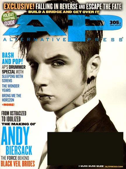 Alternative Press Cover - 12/1/2013