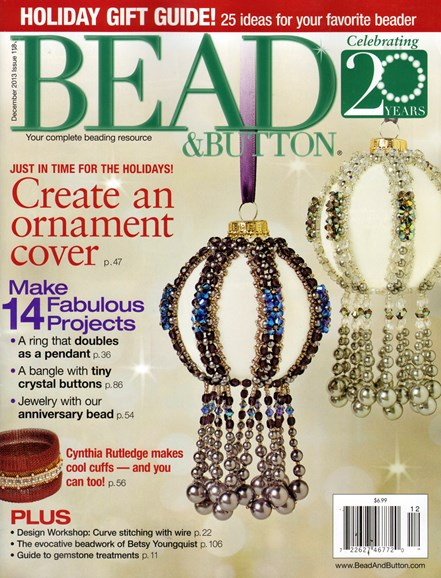 Bead & Button Cover - 12/1/2013
