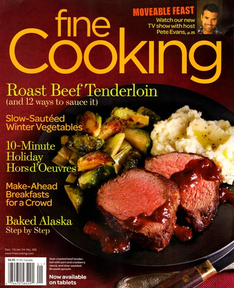 Fine Cooking Cover - 12/1/2013