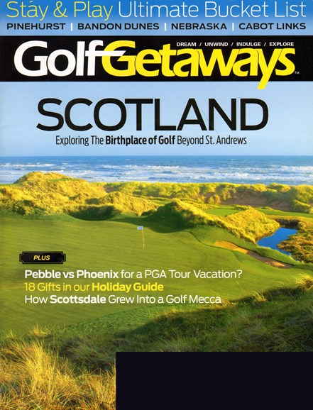 Golf Getaways Cover - 12/1/2013