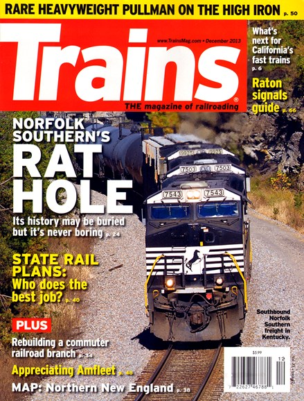 Trains Cover - 12/1/2013