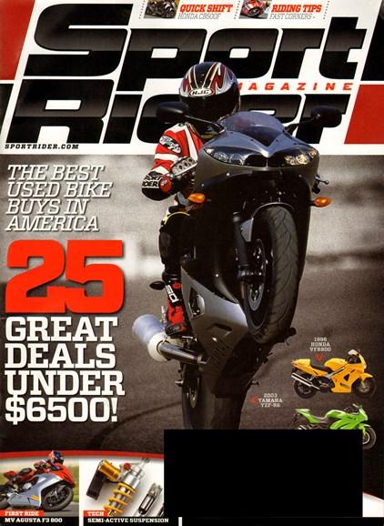 Sport Rider Cover - 10/1/2013