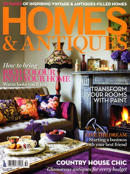 Homes & Antiques Cover - 11/1/2013