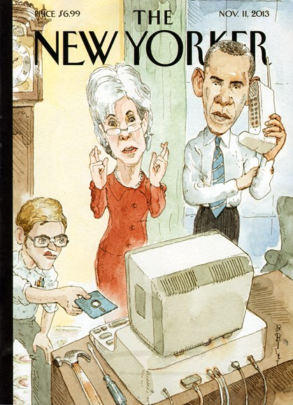 The New Yorker Cover - 11/11/2013