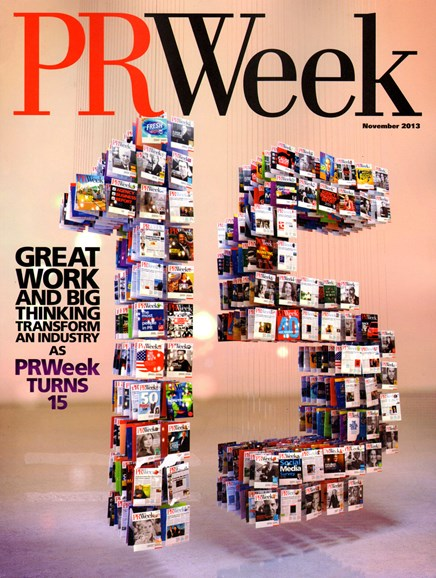 PRWeek Cover - 11/1/2013