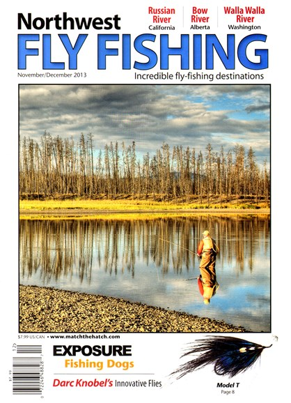 Northwest Fly Fishing Cover - 11/1/2013