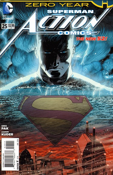 Action Comics Cover - 1/1/2014