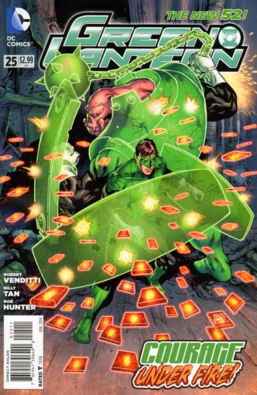 Green Lanterns Cover - 1/1/2014