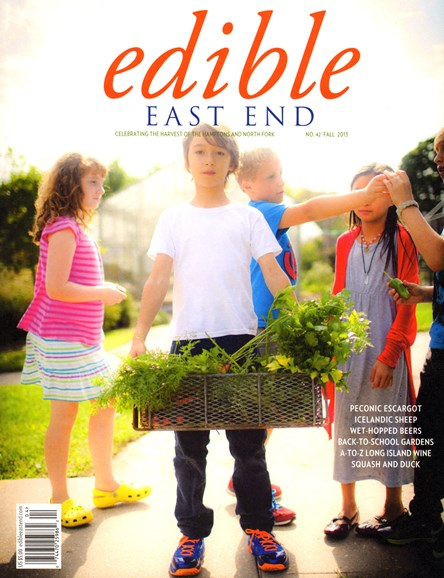 Edible East End Cover - 9/1/2013