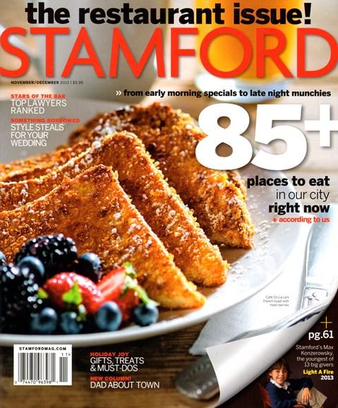 Stamford Magazine Cover - 11/1/2013