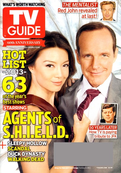 TV Guide Cover - 11/11/2013