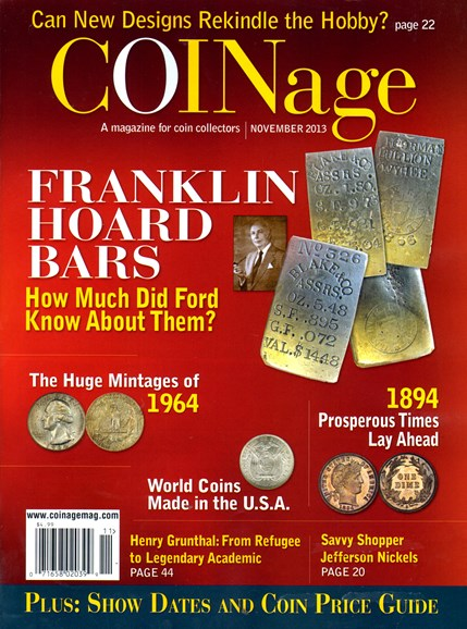 Coinage Cover - 11/1/2013