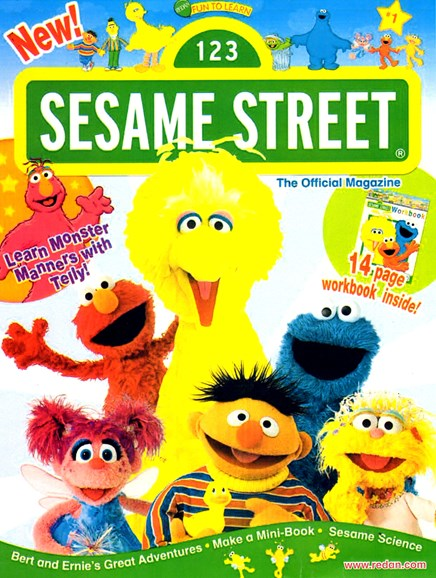 Sesame Street Cover - 11/1/2013