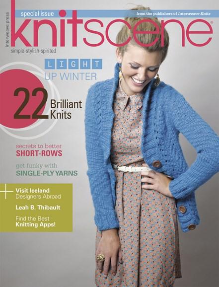 Knitscene Cover - 11/1/2013