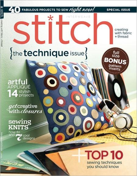 Stitch Cover - 9/1/2013