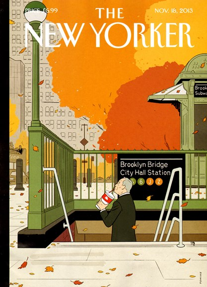 The New Yorker Cover - 11/18/2013