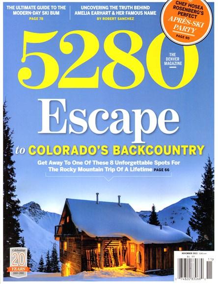 5280 Magazine Cover - 11/1/2013