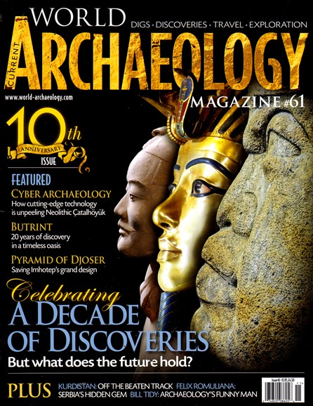 Current World Archaeology Cover - 10/1/2013