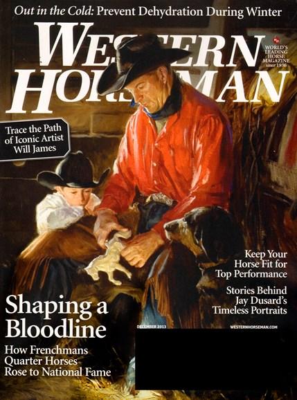 Western Horseman Cover - 12/1/2013