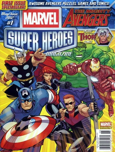 Marvel Super Heroes Cover - 5/1/2012
