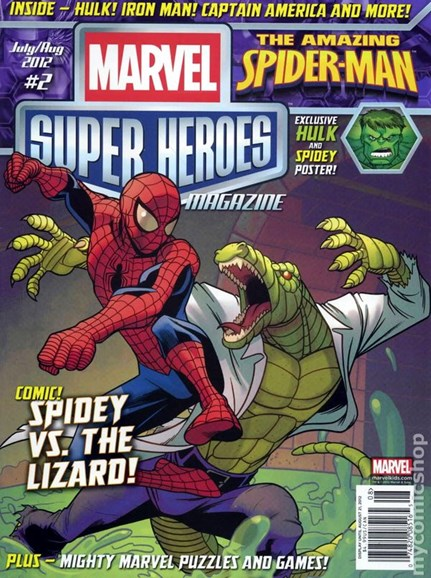 Marvel Super Heroes Cover - 7/1/2012