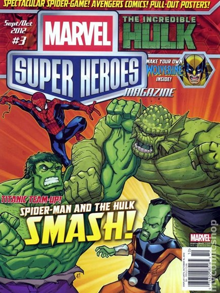 Marvel Super Heroes Cover - 9/1/2012