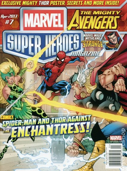 Marvel Super Heroes Cover - 4/1/2013