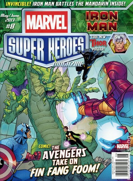 Marvel Super Heroes Cover - 5/1/2013