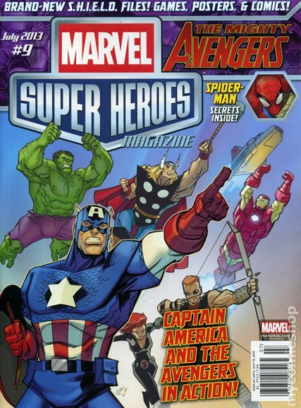 Marvel Super Heroes Cover - 7/1/2013