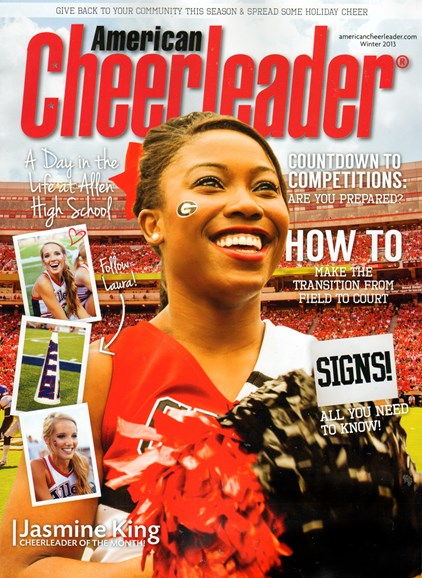 American Cheerleader Cover - 12/1/2013