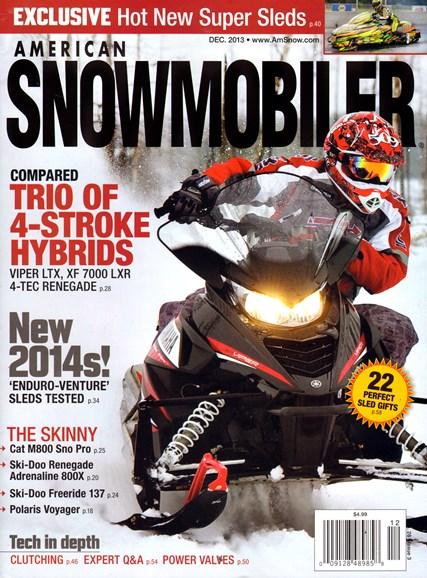 American Snowmobiler Cover - 12/1/2013