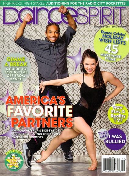 Dance Spirit Cover - 12/1/2013