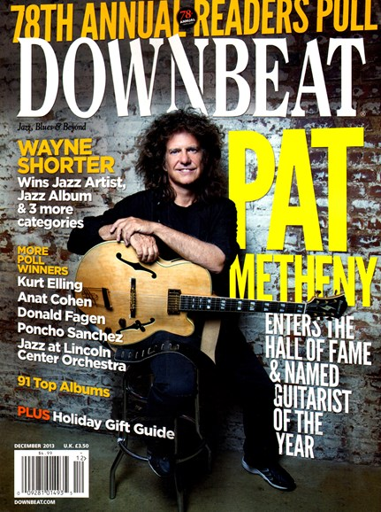 DownBeat Cover - 12/1/2013