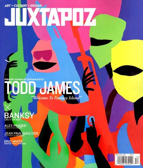 Juxtapoz Cover - 12/1/2013