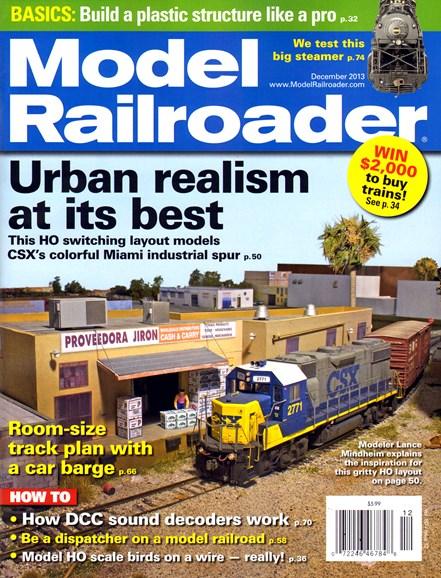 Model Railroader Cover - 12/1/2013