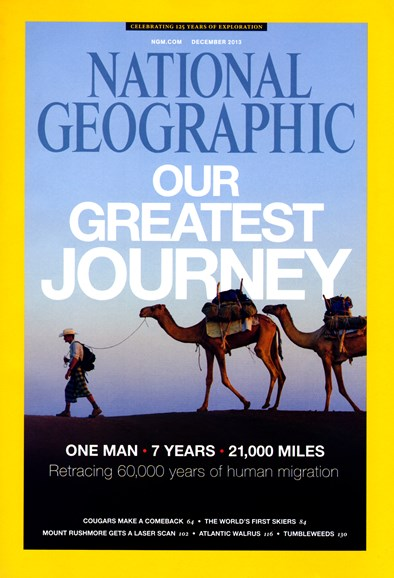 National Geographic Cover - 12/1/2013