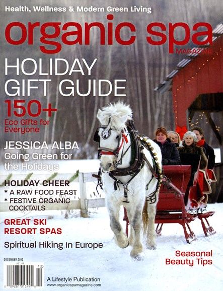 Organic Spa Cover - 12/1/2013