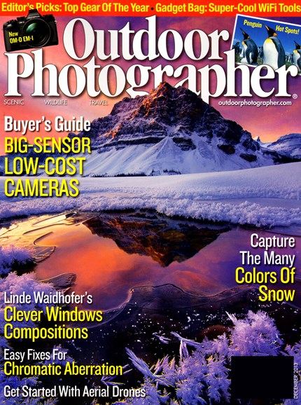 Outdoor Photographer Cover - 12/1/2013