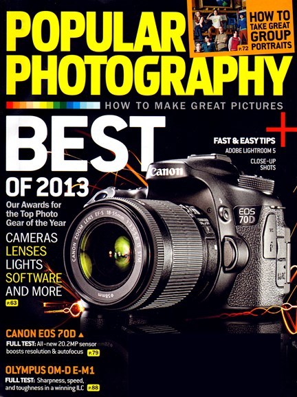 Popular Photography Cover - 12/1/2013