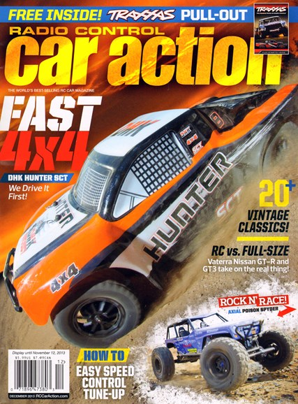Radio Control Car Action Cover - 12/1/2013
