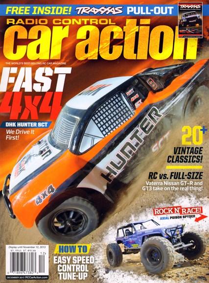Radio Control Car Action Cover - 12/1/2013
