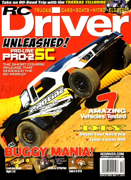 RC Driver Cover - 12/1/2013