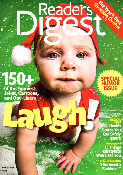 Reader's Digest Cover - 12/1/2013