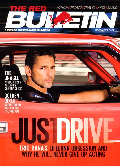 The Red Bulletin Cover - 12/1/2013