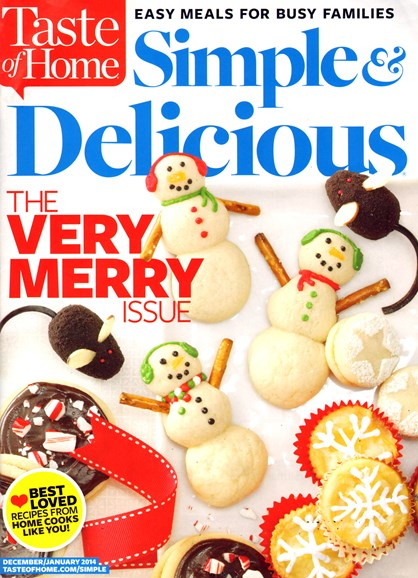 Simple & Delicious Cover - 12/1/2013