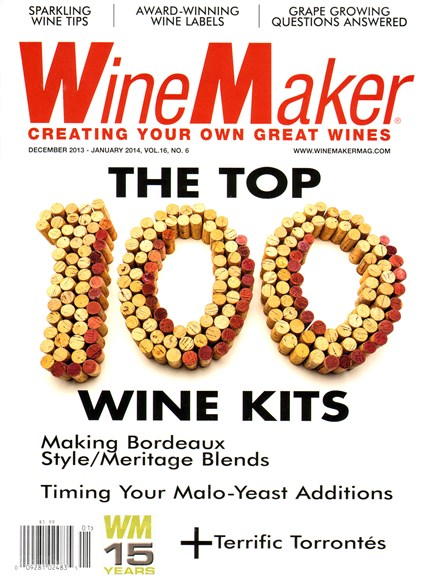 Winemaker Cover - 12/1/2013