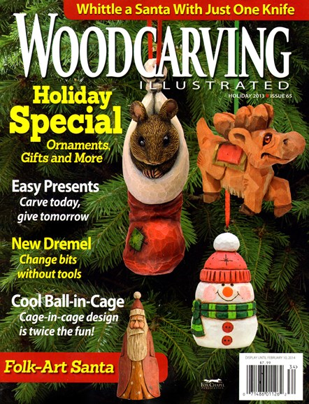 Wood Carving Illustrated Cover - 12/1/2013