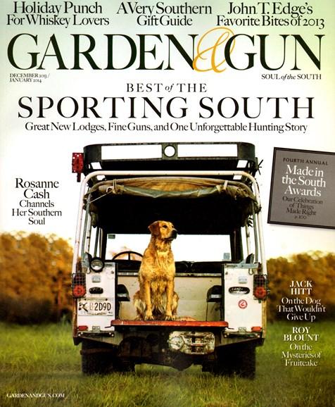 Garden & Gun Cover - 12/1/2013